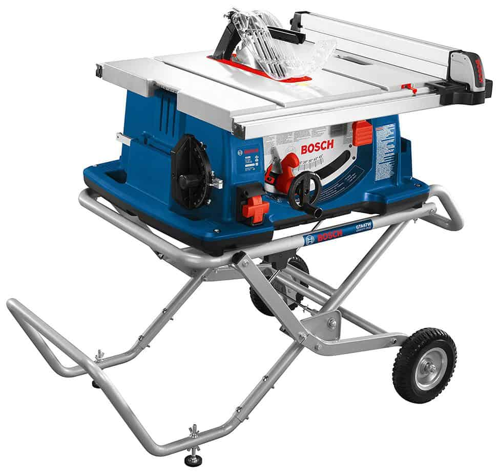 Bosch Power Tools Tablesaw 4100-10 gravity rise worksite table