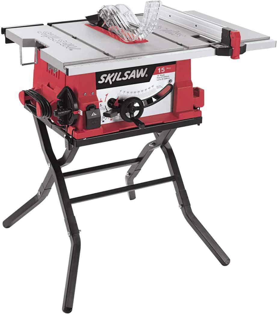 Skil 3410 02 10 Inch Table Saw with Folding Stand