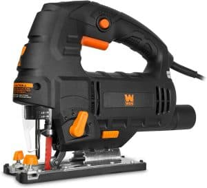 WEN 33606 6.6 Amp Variable Speed Orbital Jig Saw with Laser and LED Light