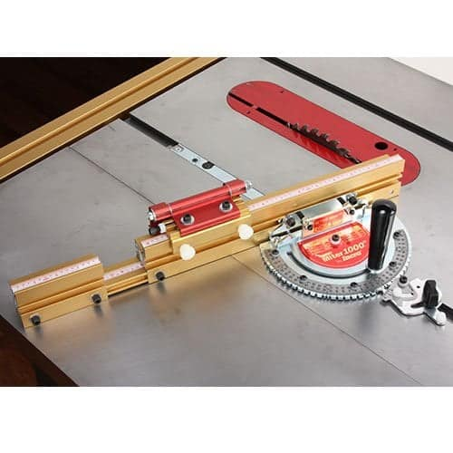 INcra Miter 1000 se miter gauge special edition with telescoping fence and dual flip shop stop