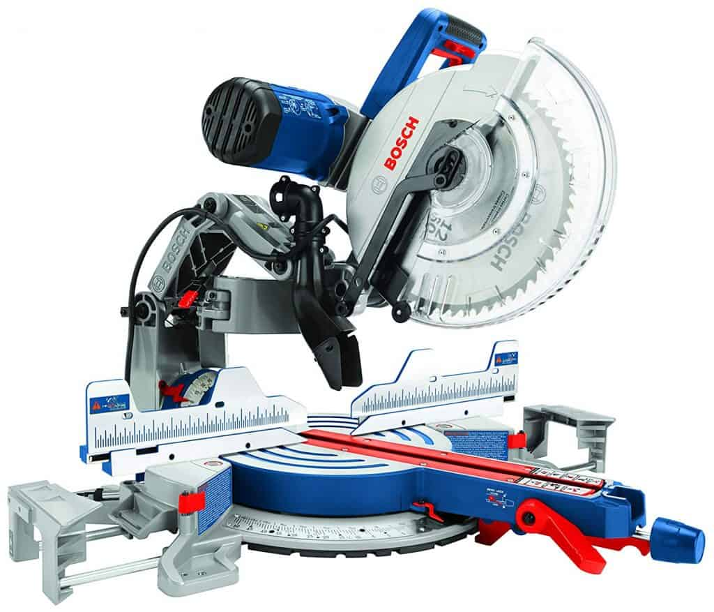 Bosch Power Tools GCM12SD - 15 Amp 12 in. Corded Dual-Bevel Sliding Glide Miter Saw
