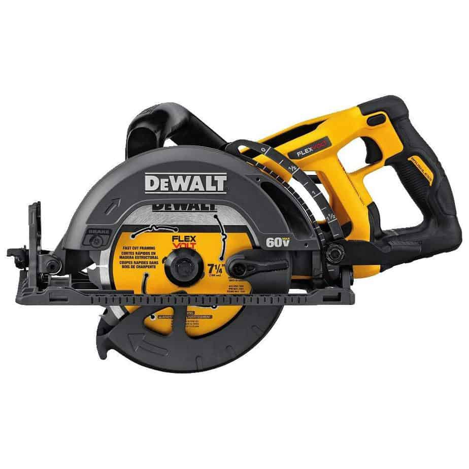 DEWALT DCS577B Flexvolt 60V Max 7-1-4 Framing Saw