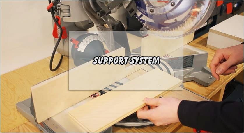 Miter Saw Supporting Materials