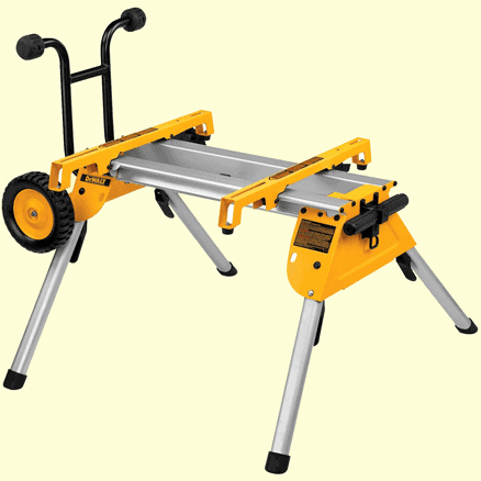 mitre saw stands with wheels