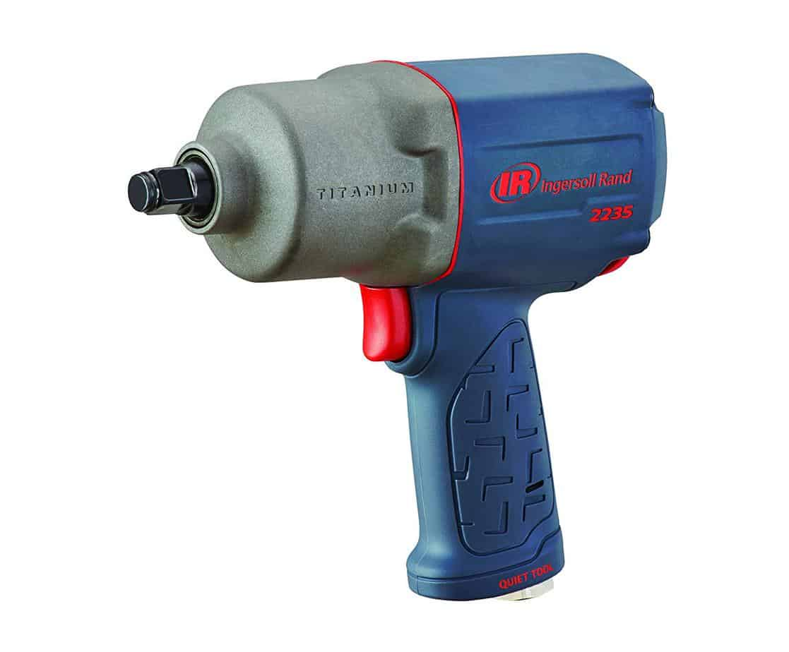 Ingersoll Rand 2235QTiMAX 1.2 Quiet Titanium Air Impact Wrench