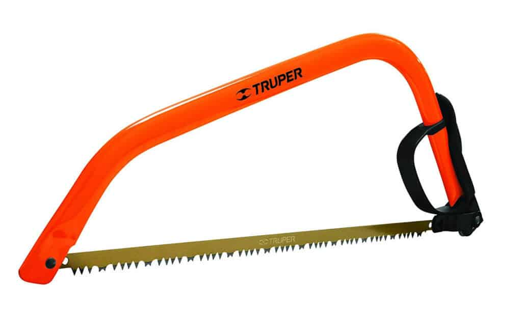 "Truper 30255 21"" steel handle bow saw"